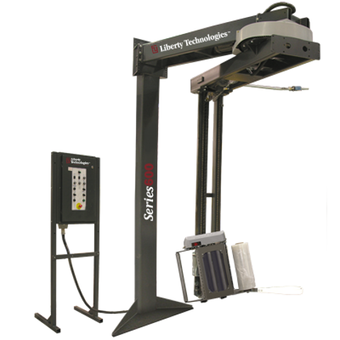 Picture of Stretch Wrapper Machine - Semi-Automatic - Overhead (LT-600-S-OH)
