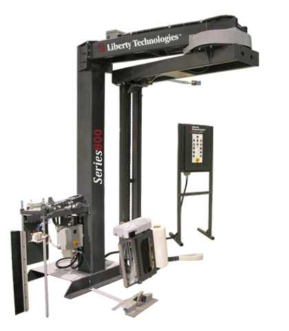 Picture of Stretch Wrapper Machine - Automatic - Overhead (LT-800-A-OH-2P)
