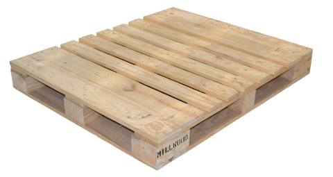 "Picture of Wood Pallet - Block - 48""x40"" (LT-PALLET-4840-B)"